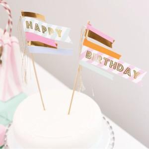 Mottobox Pastel Cake Topper