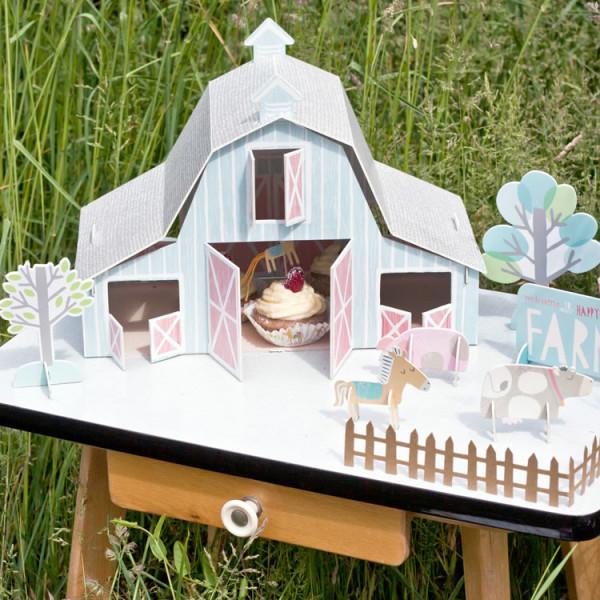 Mottobox Farm Tischdeko