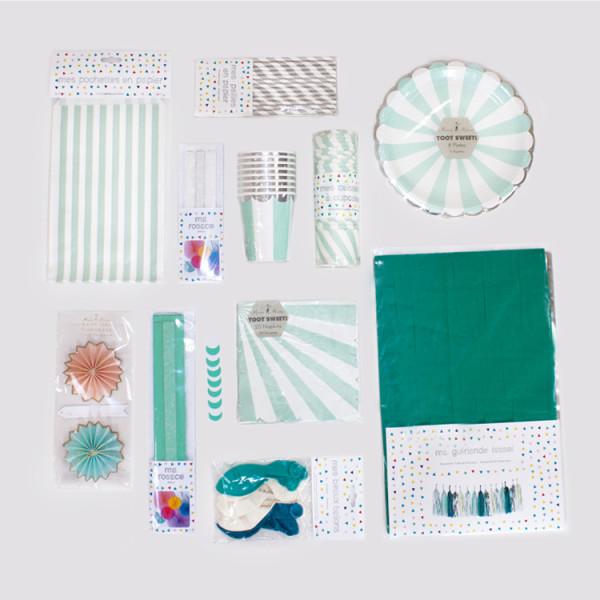 Mottobox Mint Party Übersicht Produkte