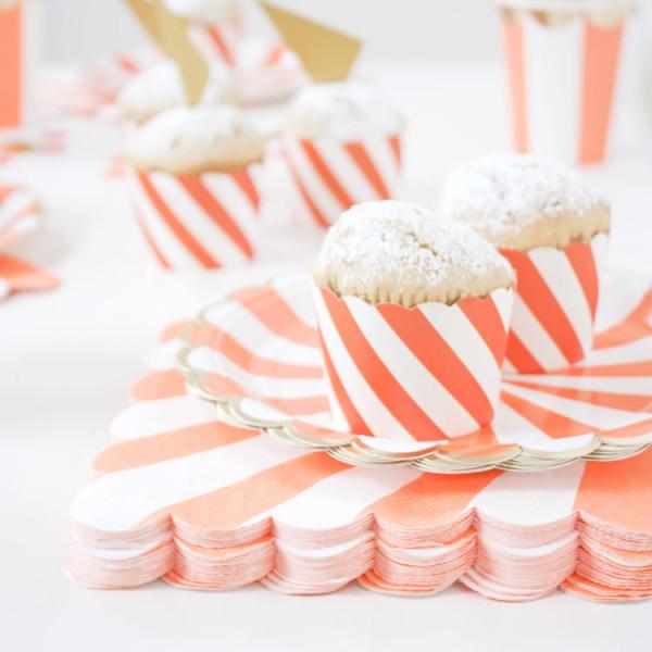 Mottobox Peach Muffinförmchen