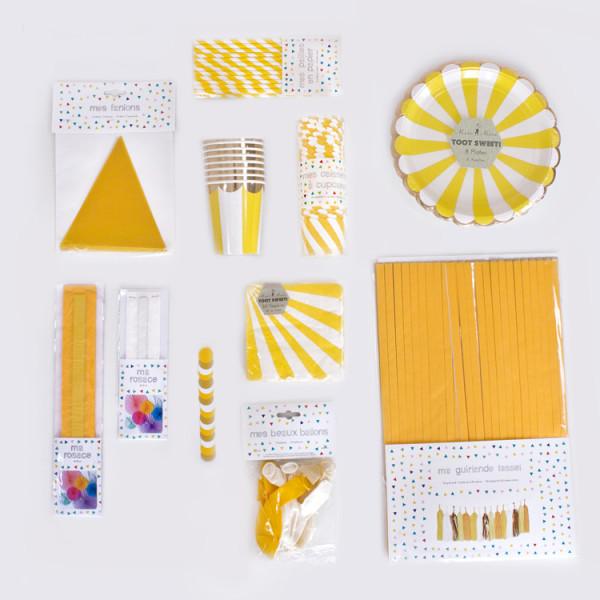 Mottobox Sunshine Übersicht Produkte