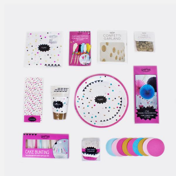 Glamorousparty Übersicht Produkte